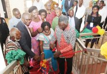 MINISTER OF SCIENCE AND TECHONOLOGY,PROF FRIMPONG BOATENG OPEN SCIENCE MUSEM IN ACCRA
