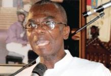 Reverend Father Samuel Filton-Mensah