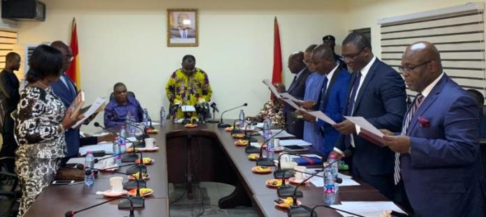 Nine-member CPC governing board