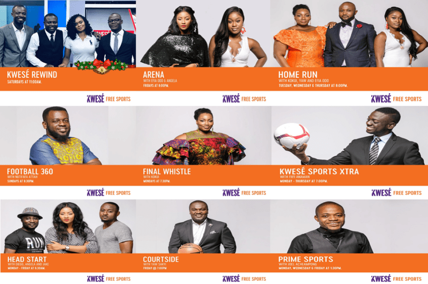 kwese free sports tv guide today