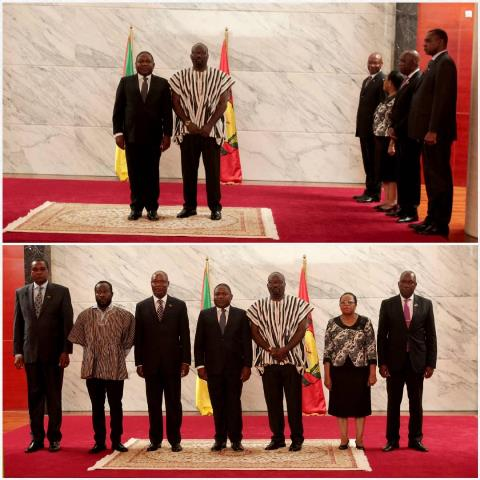 Cooperation Ghana and Mozambique