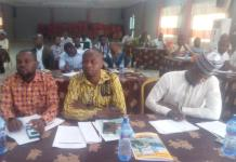 CBOs and other organisations representatives at the meeting