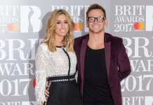 Stacey Solomon and Joe Swash