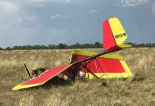 ultralight plane crash