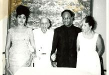 kwame nkrumah and fathia with the du boises aug