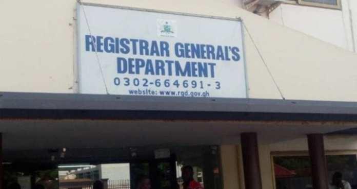 Registrar General's Department (RGD)