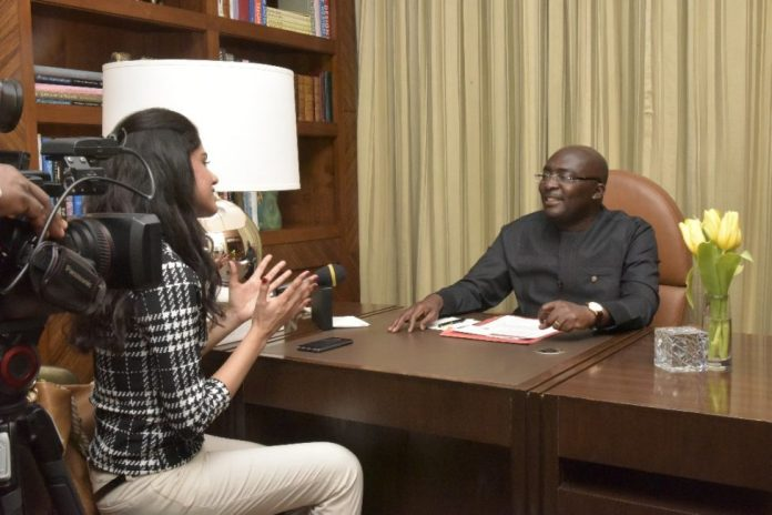 Bawumia With Times Of Africa