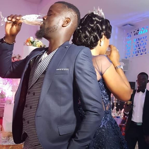 Eboue and new wife