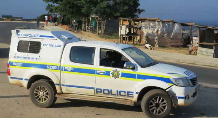 South African Police Car Masoyi