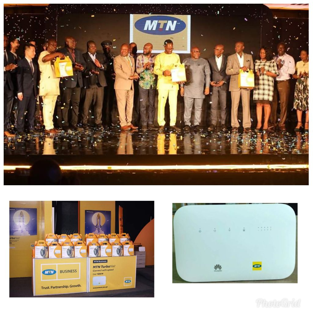 Launching Ceremony Of Mtn Turbonet In Accra