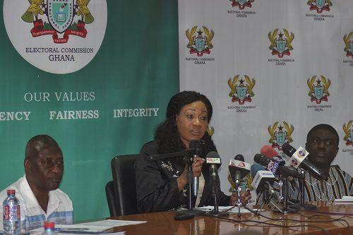 Mrs Jean Mensah The Chairperson Ec
