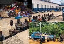 Operation Vanguard Arrest Suspected Illegal Miners