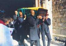 Junior Manuel Agogo Funeral Pictures