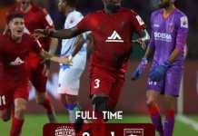 Asamoah Gyan Strikes