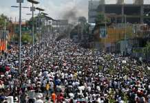 Haiti demonstrations led by artists on October 13, 2019
