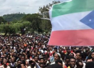 Unrest in central Ethiopia