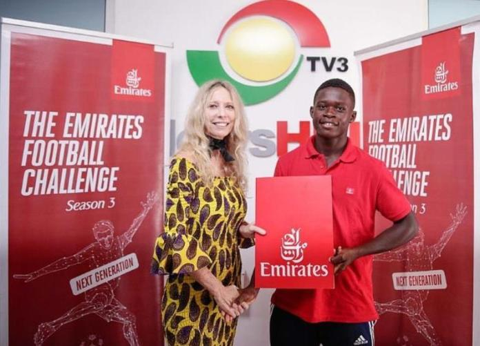 Vision FC's Abu wins Emirates Football Challenge