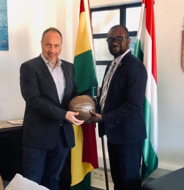 GFA president meets Hungary Ambassador