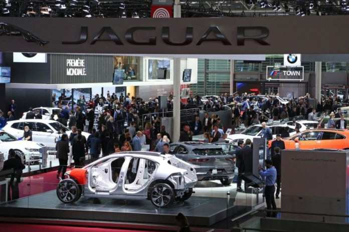 New vehicles and auto technology on display at the Paris Motor Show last year. File Photo by David Silpa/UPI | License Photo