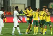 South Africa beat Ghana to qualify for Tokyo Olympics