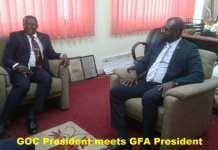 GOC president hails GFA president