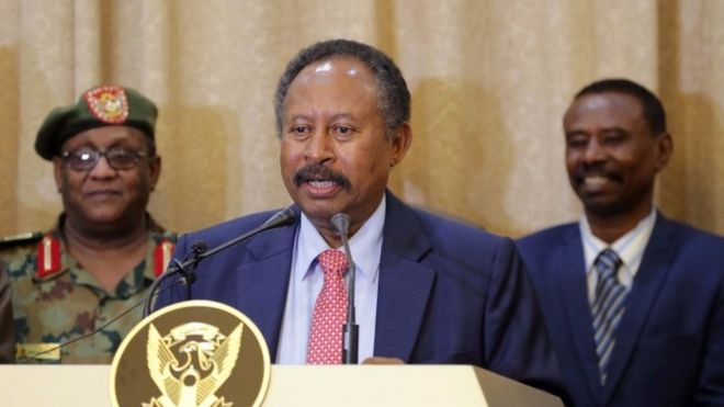 Sudan Prime Minister Abdallah Hamdok