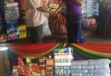 Women in gospel music donates