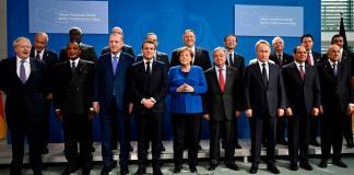 Berlin Conference on Libya held in Jan. 2020