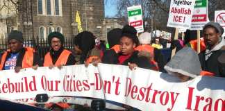 Detroit MLK Day March in the North End on Mon. Jan. 20, 2020