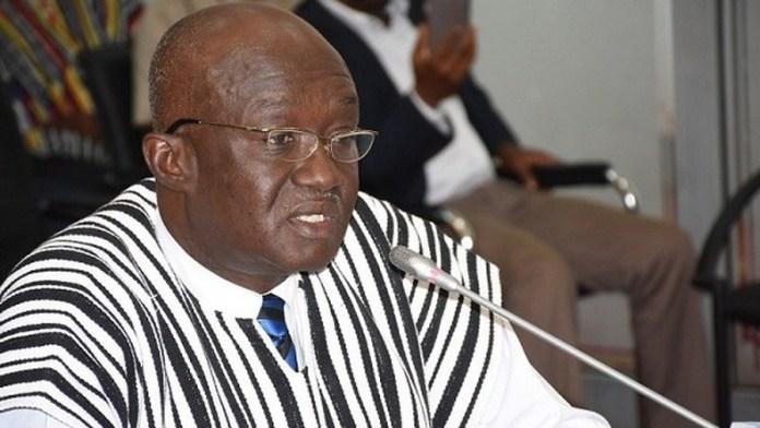 Mr Joseph Kofi Adda Minister Of Aviation