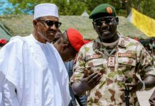 Buratai With Buhari