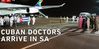 Cuban Doctors Arrive In South Africa On The Th Anniversary Of Freedom Day