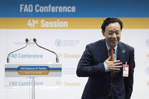 Director General Of The Food And Agriculture Organization Qu Dongyu