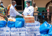 Sanitation And Water Resources Ministry Donates To Chief Imam