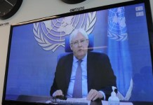 Un Envoy For Yemen Urges Warring Parties To Seize Opportunity For Peace