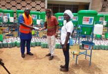 Water Aid Ghana Supports Two Districts In Covid Fight