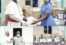 Church Donates To Bolga East Health