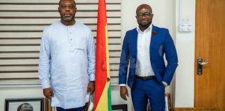 Gfa President Kurt Okraku Meets Education Minister