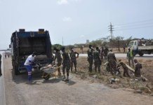 Ghana Armed Forces Supporting Covid Fight