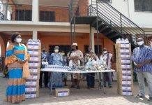 Mamfehene And Elders Donate Ppe To Community