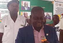 Mr Fred Obeng Owusu Municipal Chief Executive