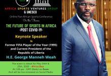His Excellency President George Manneh Weah