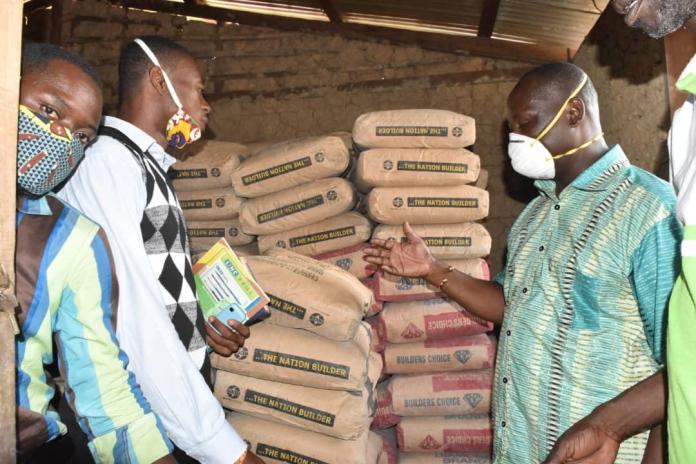 Politics Donation Mp Cement