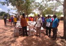 Prof Yankah Supports Agona East Farmers With Free Cocoa Fertilizers