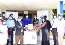 Tema General Hospital Receives Ppe From Stanchart