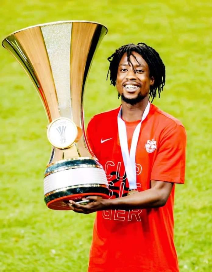 Ghanaian midfielder Majeed Ashimeru
