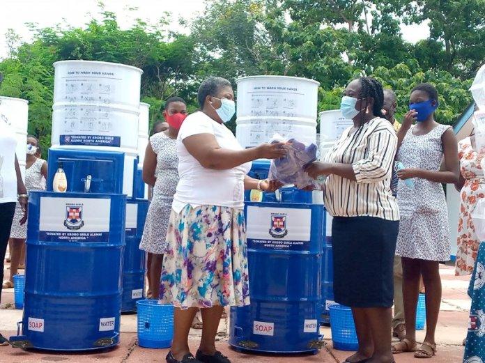 Krobo Girls Alumni Support Alma Mater With Medical Supplies