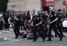 New York City Police Aggressively Attack Demonstrators