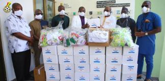 Black Stars Donate Covid Ppes To Gfa