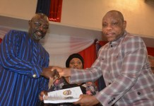 L R Pres George M Weah And Min Samuel D Tweah Jr